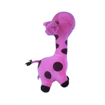 Purple Plush Giraffe