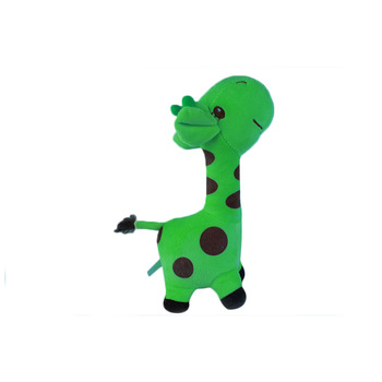 Green Plush Giraffe