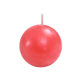 """2"""" Red Ball Candle"""