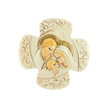 "3"" Holy Family Figurine"