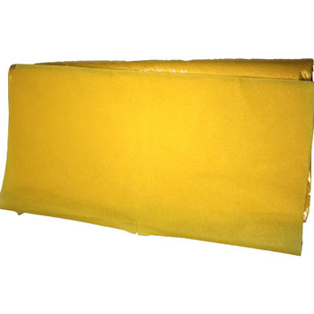 "24"" Yellow Non-Woven Floral Wrapping Paper -  50 Sheets"