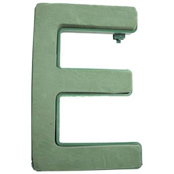 "12"" Fresh Floral Foam Letter ""E"""