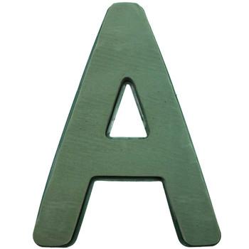 "12"" Fresh Floral Foam Letter ""A"""