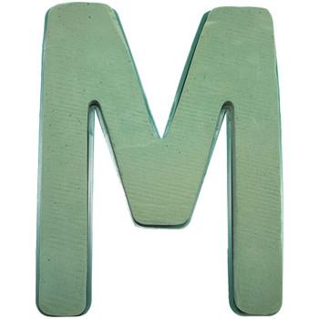 """12"""" Fresh Floral Foam Letter """"M"""""""