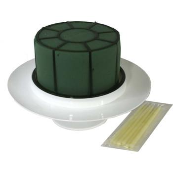 Fresh Floral Foam Cake Kit