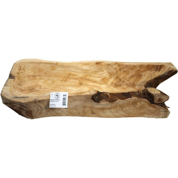 "18"" - 20"" Tree Root Wooden Tray"