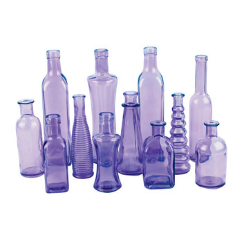 Purple Vintage Bottle Assortment