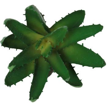 "5"" Green Artificial Aloe Succulent Plant"