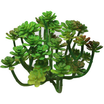 "5"" Green Blooming Artificial Succulent Plants"