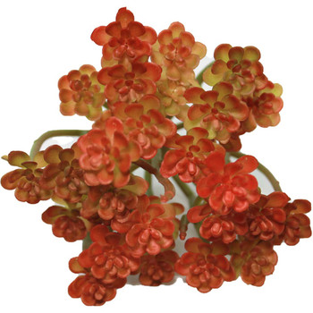 """5"""" Red Blooming Artificial Succulent Plants"""