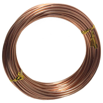 14 Gauge Rose Gold Decorative Wire 39 Ft