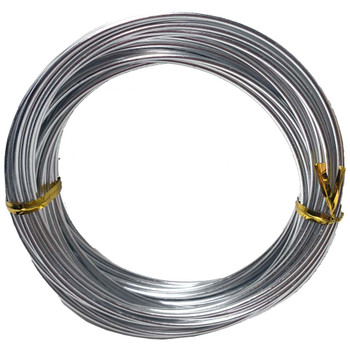 14 Gauge Silver Decorative Wire 39 Ft