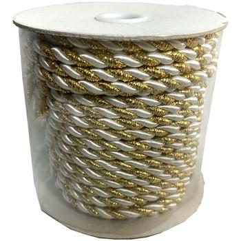 Gold & White Decorative Rope