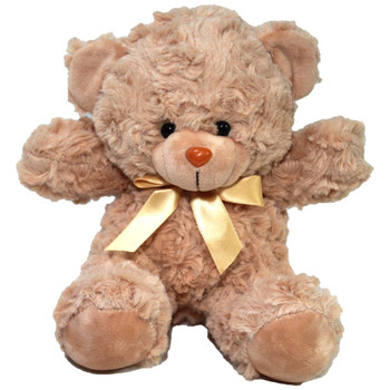 "7"" Tan Teddy Bear with Ribbon"