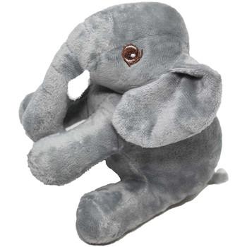 """7"""" Gray Elephant Stuffed Animal"""