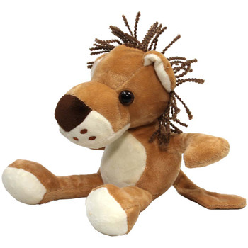 "8"" Brown Lion Stuffed Animal"