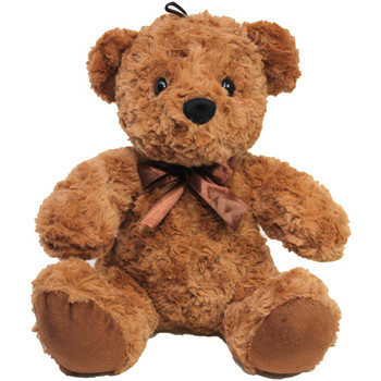 "11"" Brown Teddy Bear with Ribbon"