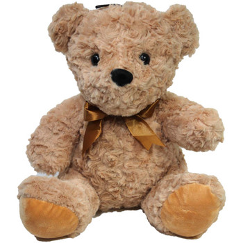 "11"" Tan Teddy Bear with Ribbon"