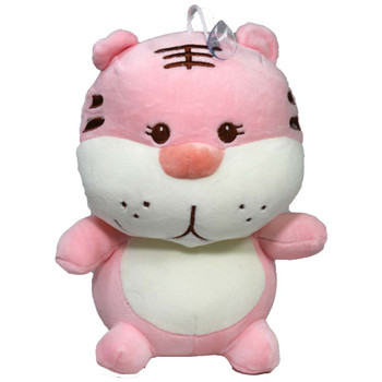 "10.5"" Baby Pink Tiger Stuffed Animal"
