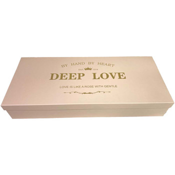 Pink and Gold Deep Love Floral Gift Box with Fresh Foam