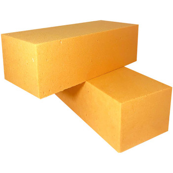 Yellow Fresh Floral Foam Bricks - 12 Pieces