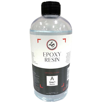 Clear Floral Epoxy Resin & Hardener - 1 Liter