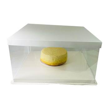 "14"" Acrylic Oversized Display Box - White"