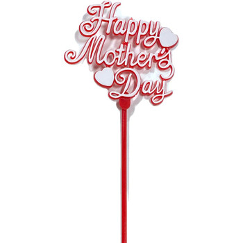 "12"""" Mother's Day Picks - 12 Pieces Red"