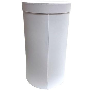 "8.5"" Triple Level Folding Box - White"