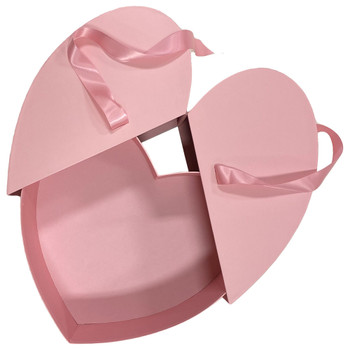 """13"""" Surprise Nested Heart - Pink"""