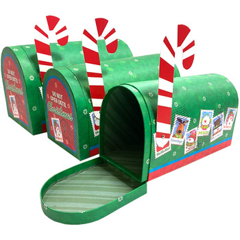 "10.5"" Holidays Mailbox - Set of 3 - Green"
