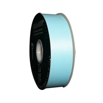 "1 7/16"" Baby Blue Flora-Satin Ribbon"