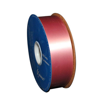 "1 7/16"" Pink Flora-Satin Ribbon"