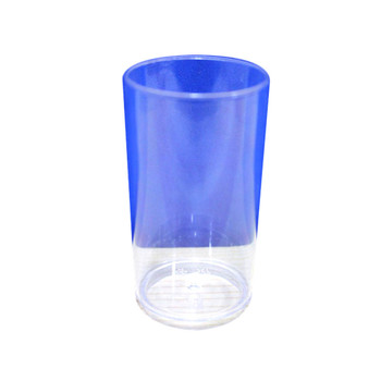 "Clear 3"" Dessert Cylinder 12PCS/Pack"