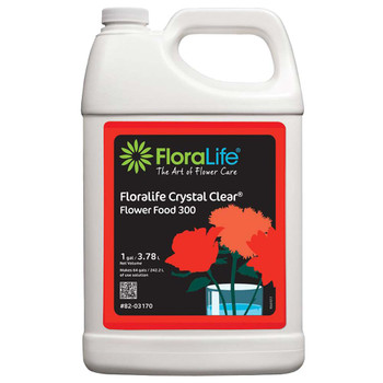 FloraLife Crystal Clear 300  Flower Food Solution