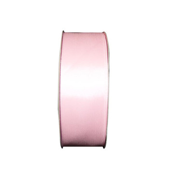 "1.5"" Light Pink Single Face Satin Ribbon"
