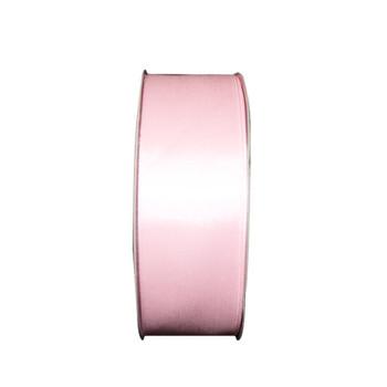"1.5"" Light Pink Single Face Satin Ribbon"
