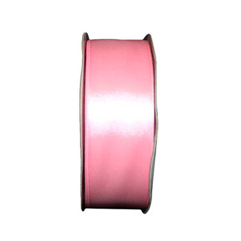"1.5"" Pink Single Face Satin Ribbon"