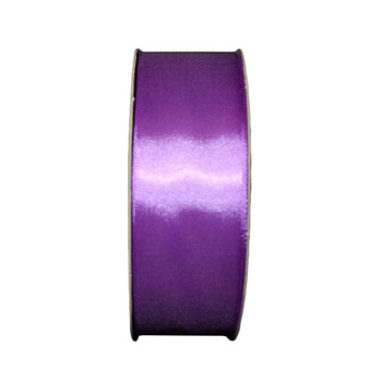 """1.5"""" Purple Single Face Satin Ribbon"""