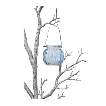 "3"" Blue Hanging Cup Candle Holder"