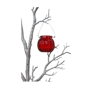 "3"" Red Hanging Cup Candle Holder"