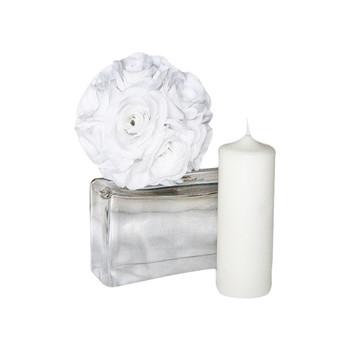 "3"" x 8"" White Pillar Candle"