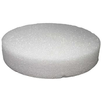 "12"" x 2"" Styrofoam Disc"