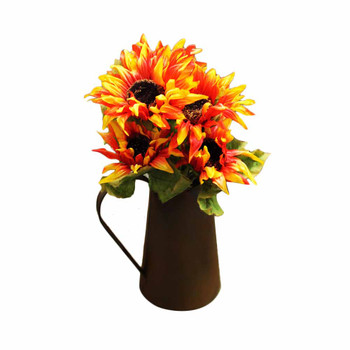 Orange Sunflower Bunch