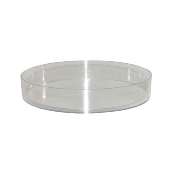 "8 1/2"" Clear Designer Tray"