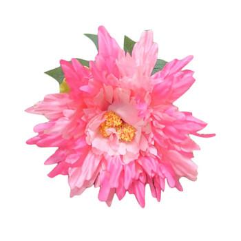 Hot Pink Single Long Stem Chrysanthemum