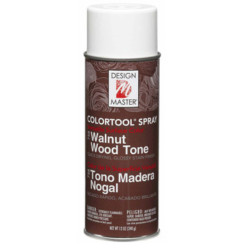 Walnut Wood Tone Color Spray