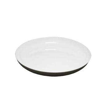 """6"""" White Lomey Designer Dish"""