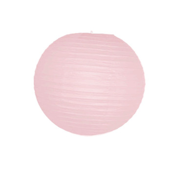 "8"" Pink Round Paper Lantern"