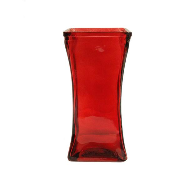 """9"""" Red Rose Vase"""